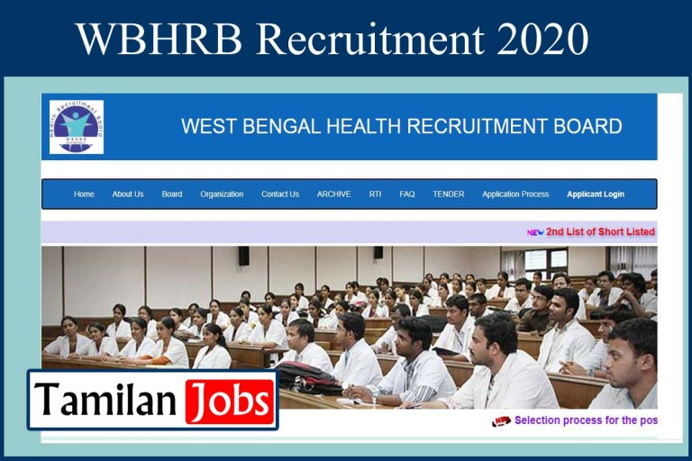 WBHRB Recruitment 2020 Out – Apply 891 Demonstrator Jobs
