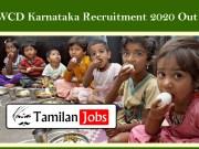 WCD Karnataka Recruitment 2020 Out