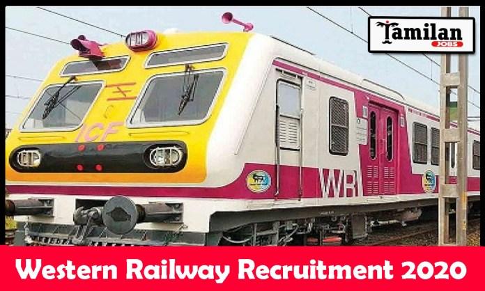 Western Railway Recruitment 2020 Out – Apply Online 41 Junior Technical Associate Jobs