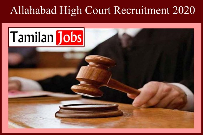Allahabad High Court Recruitment 2020 Out – Apply 102 Law Clerk Jobs