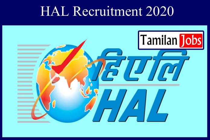 HAL Recruitment 2020 Out – Diploma Technicians Jobs