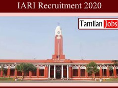 IARI Recruitment 2020