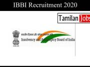 IBBI Recruitment 2020