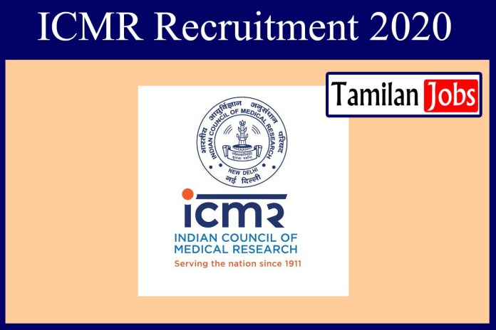 ICMR Recruitment 2020 Out – Apply Online 141 Scientist-B Jobs