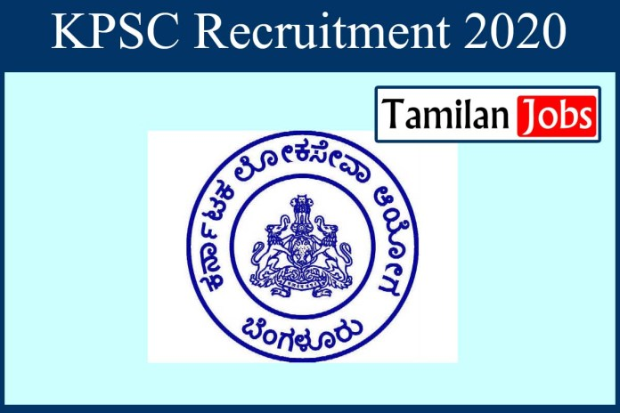 KPSC Recruitment 2020 Out – Degree Candidates Can Apply Online 251 Group A & B Jobs