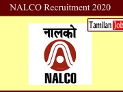 NALCO Recruitment 2020