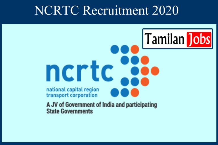 NCRTC Recruitment 2020 Out – Apply 52 Junior Engineer Jobs