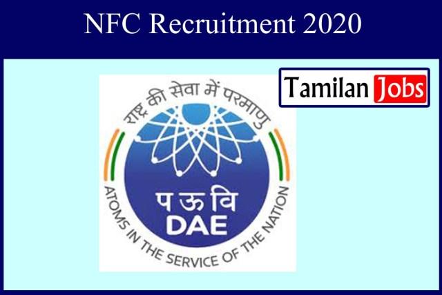 NFC Recruitment 2020