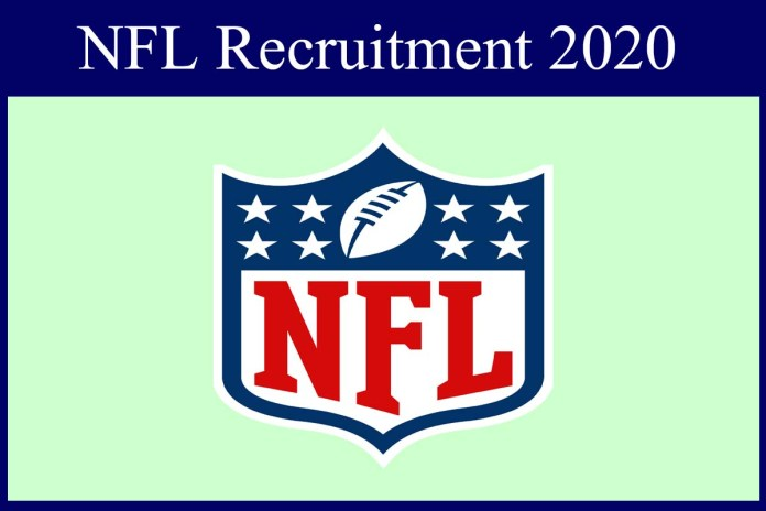 NFL Recruitment 2020 Out – CA Candidates Apply For Senior Manager Jobs