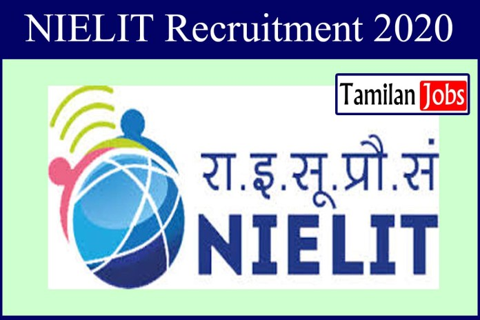 NIELIT Delhi Recruitment 2020 Out – Apply Online System Consultant Jobs