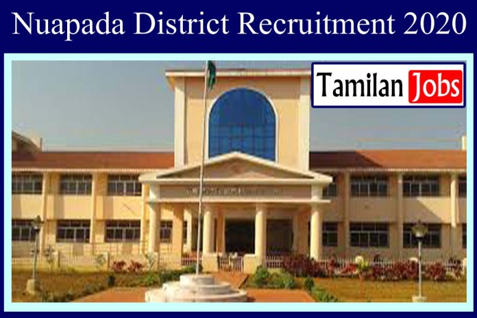 Nuapada District Recruitment 2020 Out – TGT Jobs
