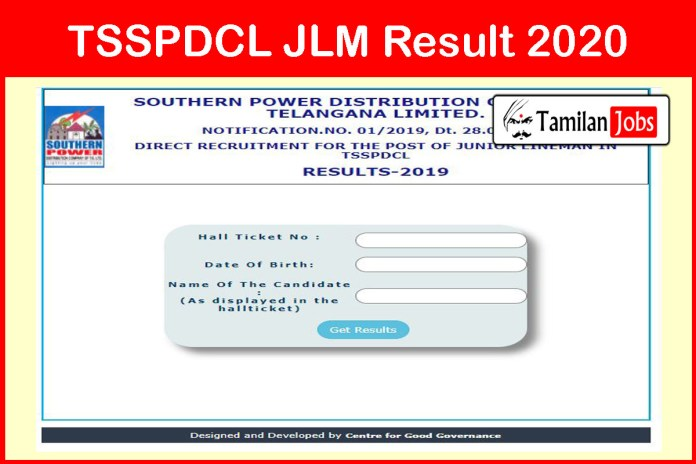 TSSPDCL JLM Result 2020 OUT – JACO, JPO Cut Off Marks, Merit List