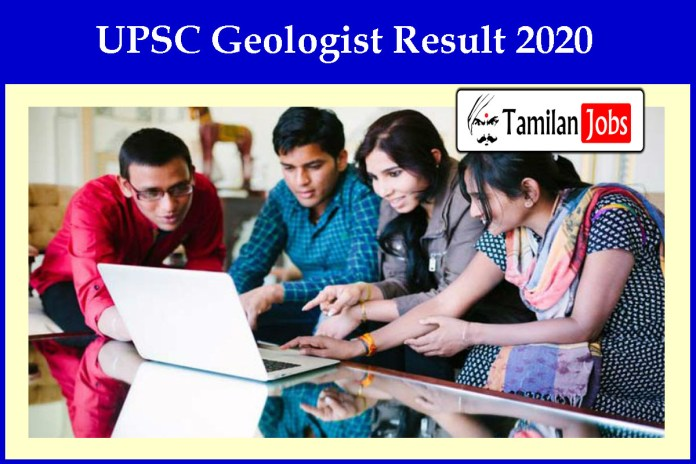 UPSC Geologist Result 2020 OUT | Check Cut Off, Merit List