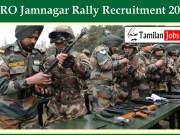 ARO Jamnagar Rally Recruitment 2020