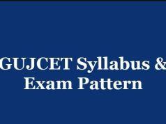 GUJCET Syllabus 2020 PDF