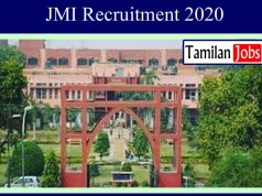 JMI Recruitment 2020