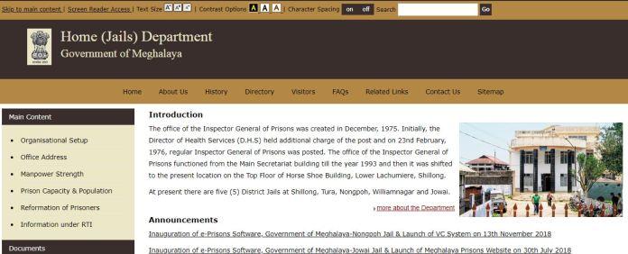 Meghalaya Prison Department Admit Card 2020