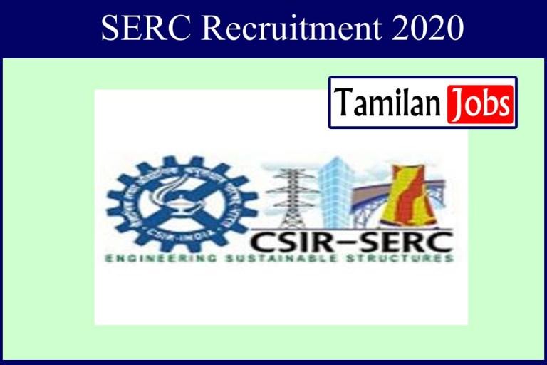 SERC Recruitment 2020 Out – Apply Online 413 Apprentice Jobs