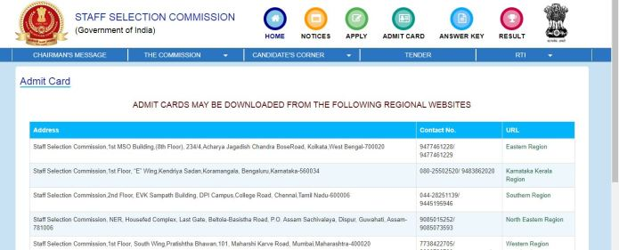 SSC CHSL Admit Card 2020 OUT | Check Tier 1 Combined Higher Secondary Level Exam Date