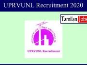 UPRVUNL Recruitment 2020
