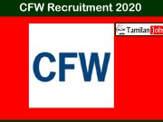 CFW Recruitment 2020