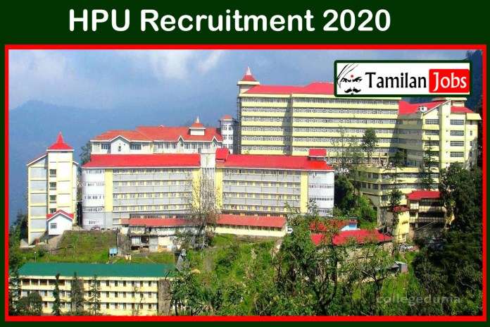 HPU Recruitment 2020 Out – Degree Candidates Can Apply For 274 Medical Officer, Clerk Jobs