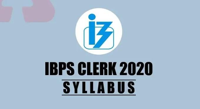 IBPS Clerk Syllabus 2020 – Download Exam Pattern @ ibps.in