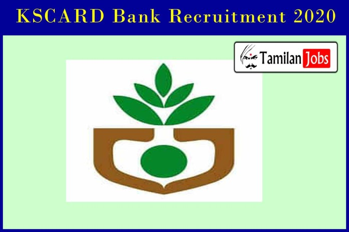 KSCARD Bank Recruitment 2020 Out – Degree Candidates Can Apply Legal Officer, Calculator & Sr. Assistant Jobs