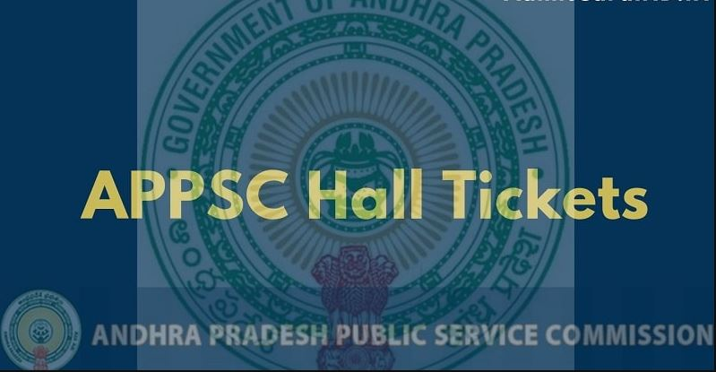 APPSC Departmental Test Hall Ticket 2020