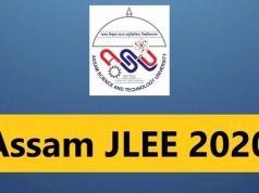 Assam JLEE Admit Card 2020