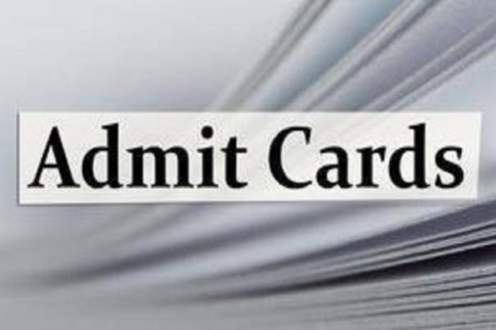 CGPSC Assistant Director Admit Card 2020