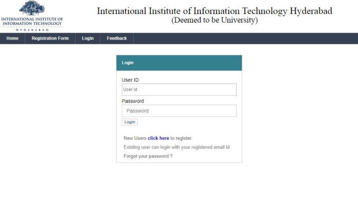 IIITH UGEE Result 2020 (Announced) | IIIT Hyderabad UGEE Selection List