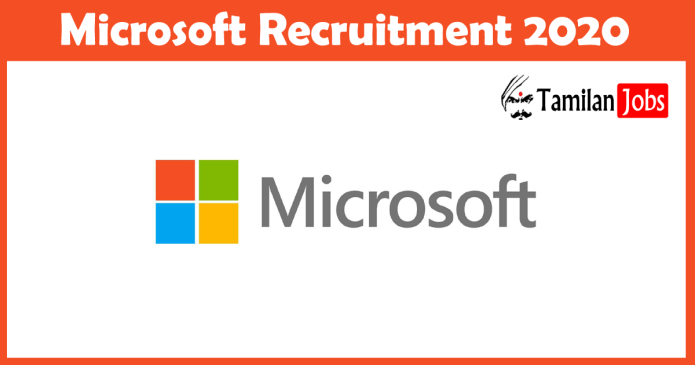 Microsoft Recruitment 2020: 1000 + Job Openings