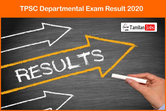 TPSC Departmental Exam Result 2020 @ tpsc.nic.in | Engineering Officer Cut Off, Merit List