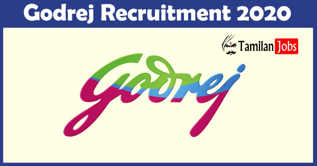 Godrej Recruitment 2020
