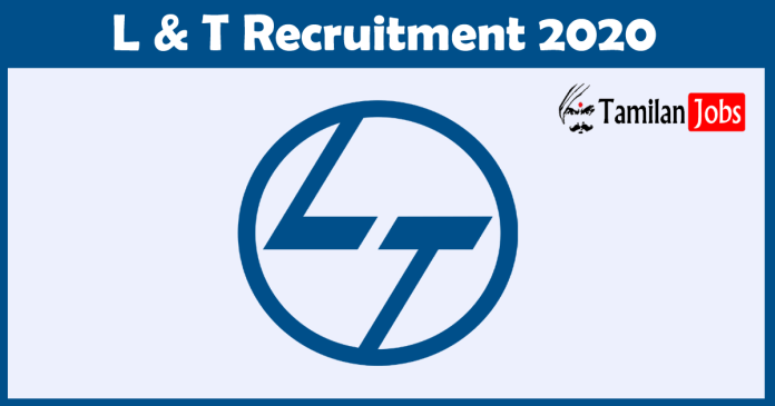 L and T Recruitment 2020
