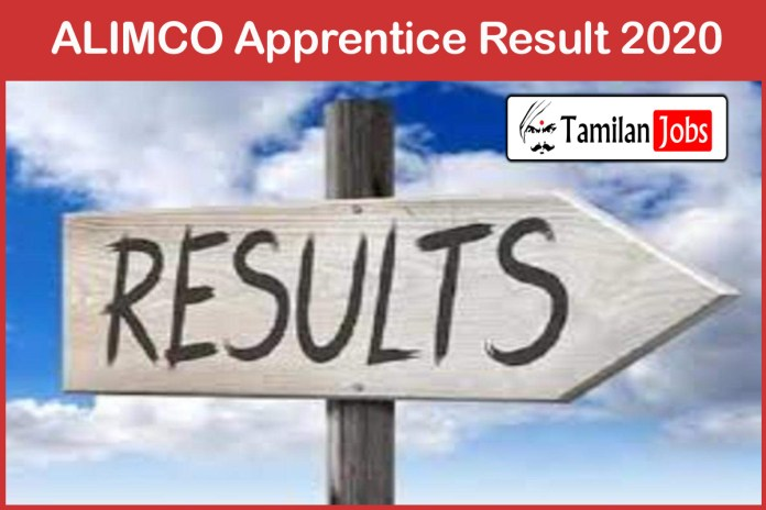 ALIMCO Apprentice Result 2020 | Merit List, Selection List @ alimco.in