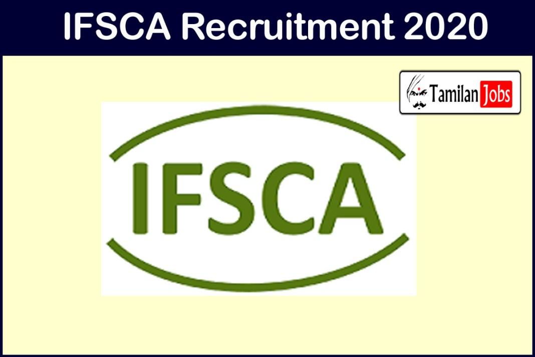 IFSCA Recruitment 2020