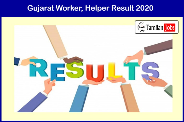 ICDS Gujarat Anganwadi Result 2020 Yet To release. Download at wcd.gujarat.gov.in