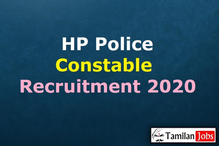 HP Police Constable Recruitment 2020, Apply Online 1334 Constable, Driver, Firemen Posts