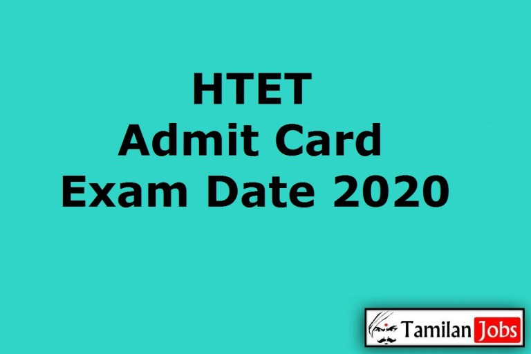 HTET Admit Card 2020 | Haryana Teacher Eligibility Test Date (Out) @ bseh.org.in