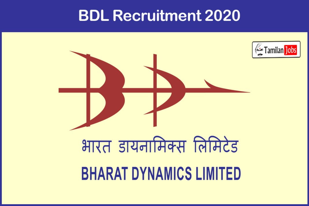 BDL Recruitment 2020