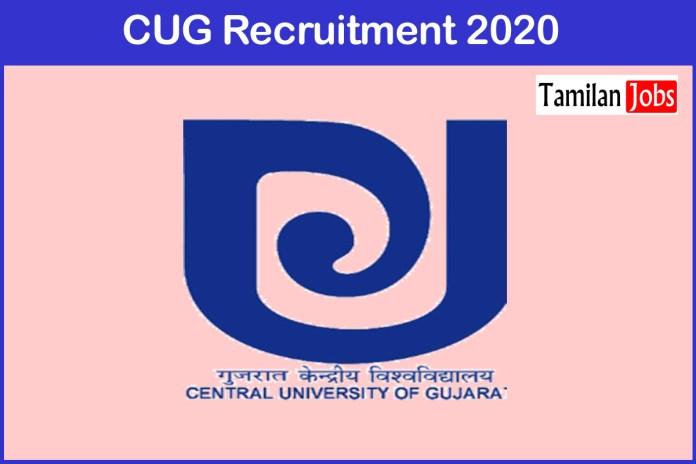 CUG Recruitment 2020 Out – Apply Online 70 Professor Jobs