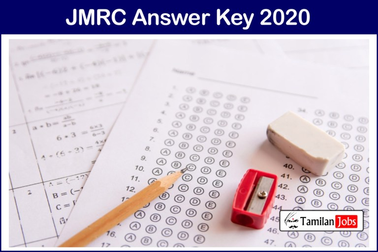 JMRC Maintainer Answer Key 2020 (Released) | Check Details