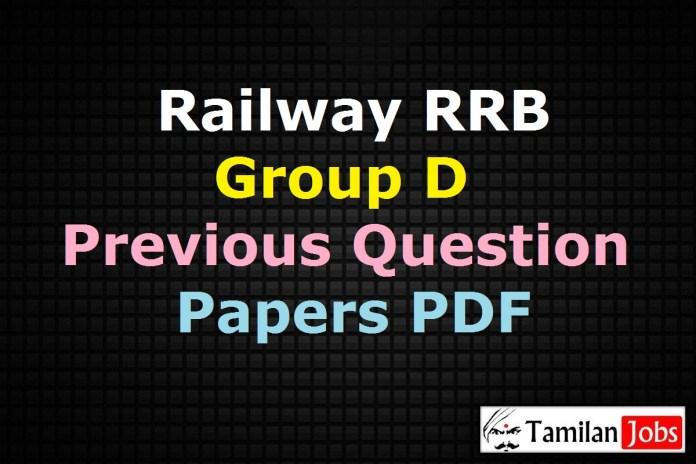 Railway RRB Group D Previous Question Papers PDF