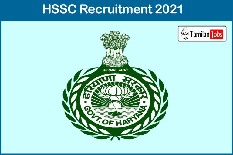 HSSC Recruitment 2021 Out – Apply Online 534 PGT Jobs