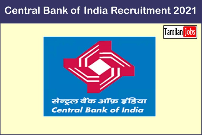 Central Bank of India Recruitment 2021 Out – Apply Online 1 FLCC Incharge Jobs