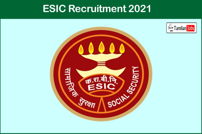 ESIC Recruitment 2021 Out – Apply 6552 Stenographer, UDC Jobs