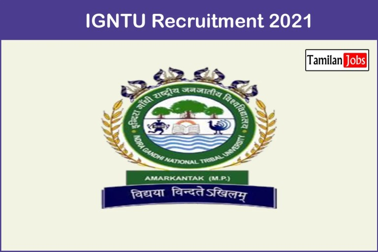 IGNTU Recruitment 2021 Out – Apply 43 Teaching Jobs