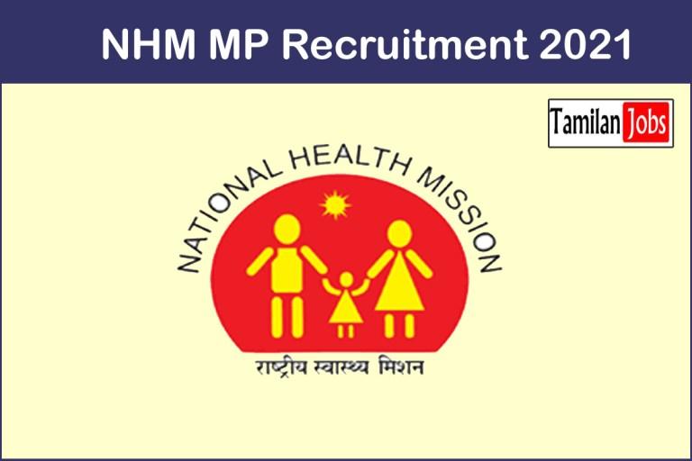 NHM MP Recruitment 2021 Out – Apply Online 5215 Staff Nurse, ANM Jobs